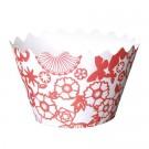 Japanese Kimono Cupcake Wrappers - 12units/pack