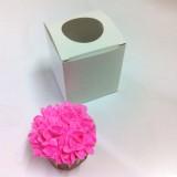 1 Cupcake Top Window Box w flexi hole ($1.30/pc x 25 units)
