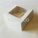 4 Cupcake Window Box ( $2.20/pc x 25 units)